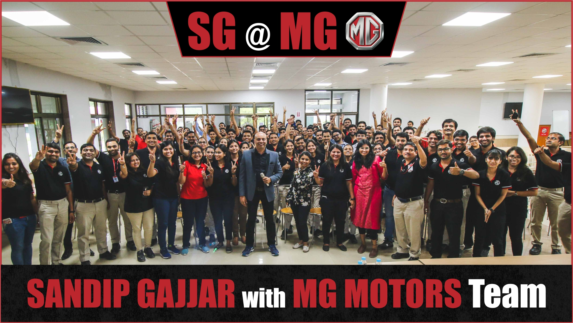 MG Motors India , MG Motors Team, MG Motors